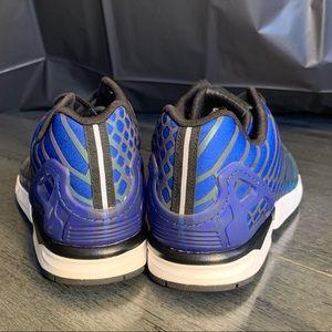adidas Shoes - Adidas Zx Flux Xeno 3M Shock Green/Blue  SZ 10.5